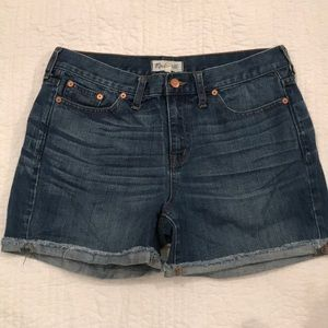 Madewell Cutouff Jean Shorts